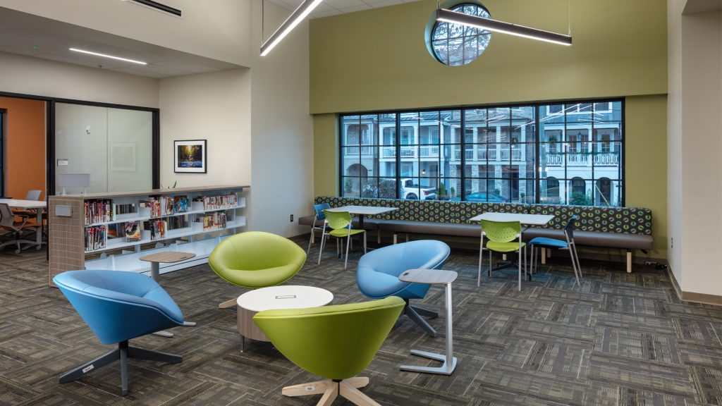 Hillsman Inc - Roswell Public Library
