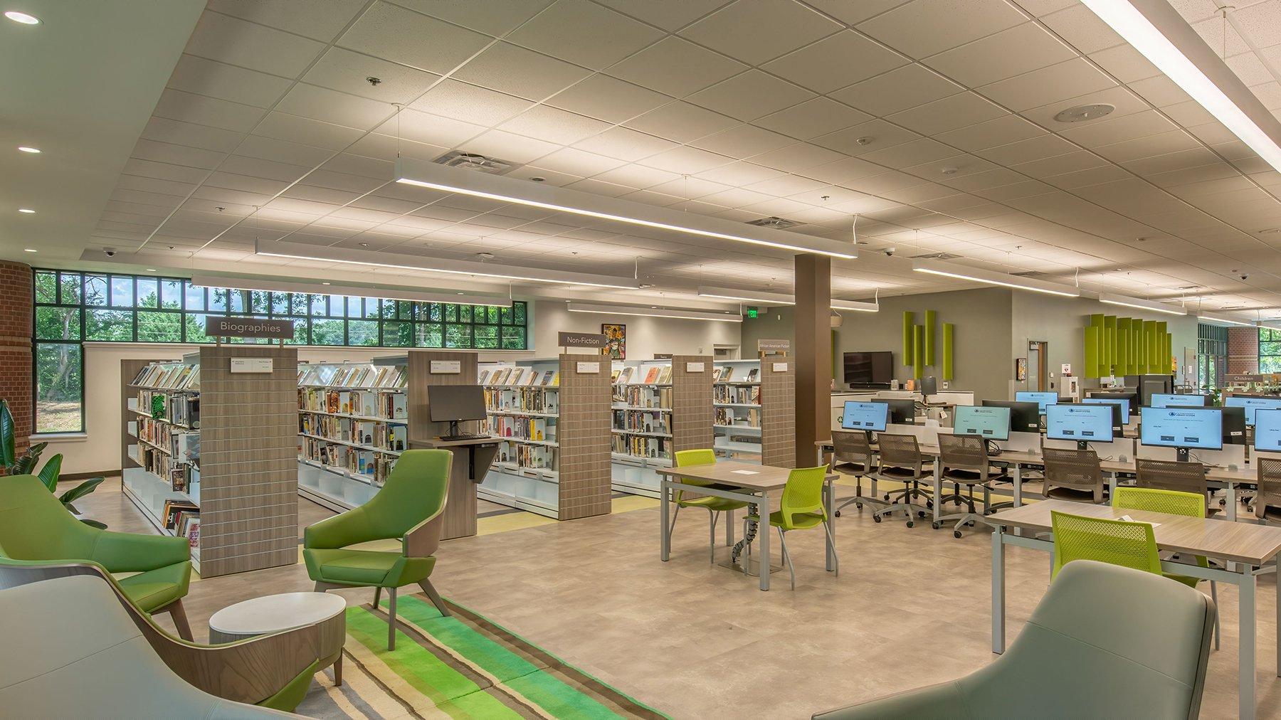 Hillsman Civic projects - Airports Government Facilities Libraries Community Centers